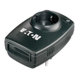 Eaton Protection Box 1 DIN - stekkeradapter met overspanningsbeveiliging (Schuko-bus) - zwart