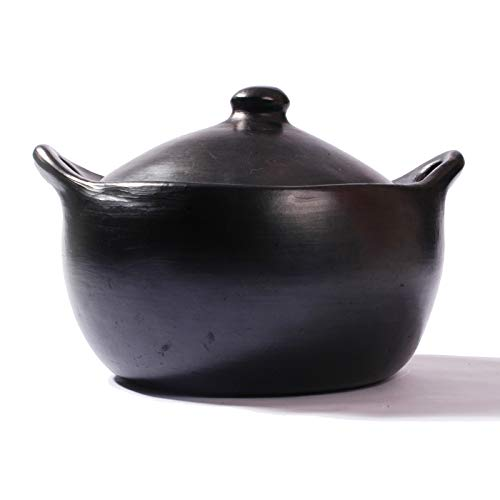 Black Clay, La Chamba Stew Pot - Large - 6 quarts