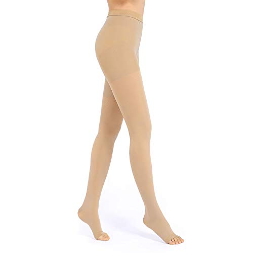 Medical Compression Pantyhose for Women & Men, 20-30mmHg Compression Stockings