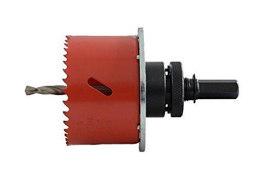 HSS-Sega a tazza, Bi-metallo con cava Lochrandversenker per scatole da parete 68-105 mm ø