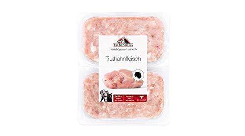 Tackenberg Barf Hundefutter (Truthahn), Barf Futter, Barf Fleisch für Hunde, Katzen und Welpen
