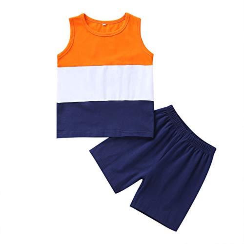 Longra Babykleidung babymode 2PCS Toddler Kids Baby Girl Boy Striped T Shirt Tops Shorts Pants Clothes Set Kindermode online kinderkleidung günstig Erstausstattung Baby babymode