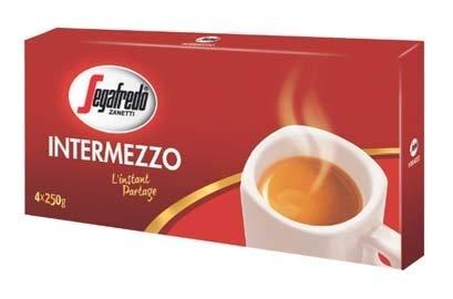 Caffè espresso segafredo intermezzo 1 kg aroma intenso tostatura media