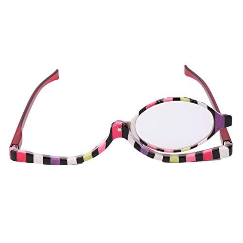 Lergo Lupa Gafas Maquillaje Cosmético Lectura Vidrio