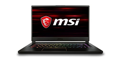 MSI GS65 Stealth Thin 8RE-011UK 15.6 - Inch Thin Bezel Gaming Laptop - (Intel i7 8750H, 16 GB RAM, 256 GB SSD, GTX 1060 Graphics, Windows 10 Home) VR Ready