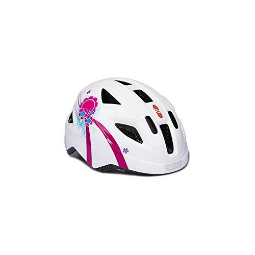 Puky PH 8 Kinder Fahrrad Helm Gr.45-51cm weiß/pink