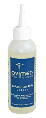 Ovimed Bio basische Haar Aktiv Lotion, bei Haarausfall, Kopfhautprobleme, Schuppen, 150ml, 150 ml