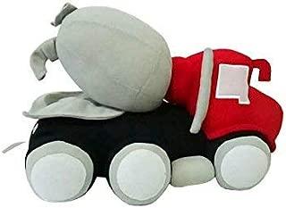 Cozy Bear Soft Plush Cement Mixer Truck Construction Toy