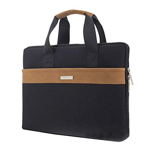 LPER Laptop Backpack Laptop Bag Multi-function Fashion 900D Oxford Cloth Shoulder Hand Laptop Tablet Bag for 13.3 inch and Below (Black) Casual Daypack (Color : Black)