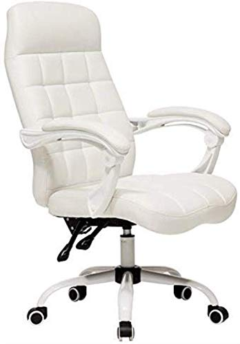 aipipl Cozy Bar Stools Executive Recline Extra Padded Office Chair Computer Chair Ultimate Comfort Design 160deg; Lounge Chair Plaid Design Bearing Weight 150kg