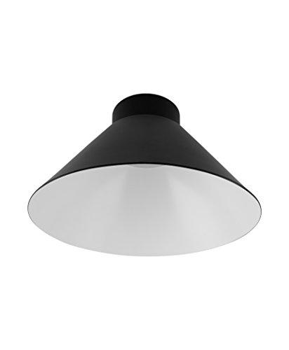 Osram Vintage Edition 1906 Lampenschirm Cone, schwarz und weiß, Zur Erweiterung Ihrer Osram Pendulum Leuchte, P20, Aluminiumgehäuse
