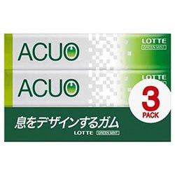 ロッテ ACUO(アクオ) グリーンミント 3P×10個入×(2ケース)