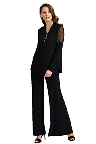 Joseph Ribkoff Black Top Style 201064 - Spring 2020 Collection (14)