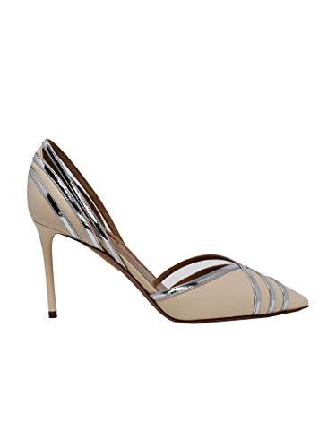 AQUAZZURA Luxury Fashion Damen COMMIDP0NSPCRS Beige Pumps | Frühling Sommer 20