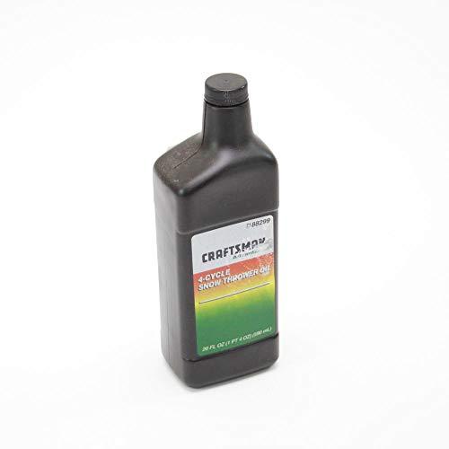 CRAFTSMAN 49028 Snowblower Engine Oil Genuine Original Equipment Manufacturer (OEM) Part