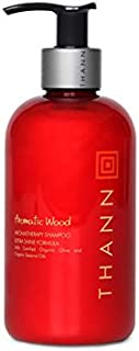 Sponsored Ad - Thann Aromatic Wood Aromatherapy Hair Shampoo for Men and Women - Extra Shine Shampoo with Organic Olive Oi...