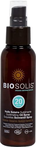 Biosolis Huile Solaire Sublimant SPF20 100 ml
