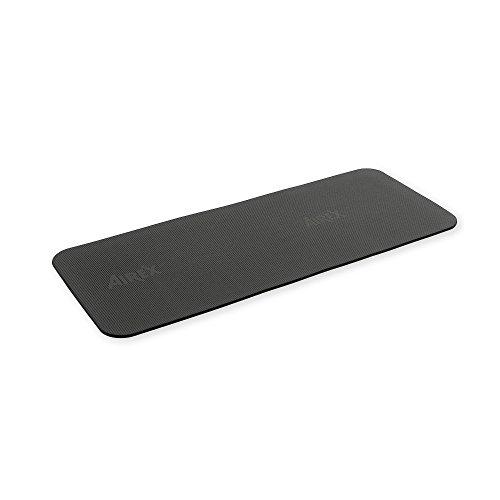 Airex Fitline 180 - Ejercicio de Yoga, Fitness y Pilates Negro carbón de Madera, 10 mm