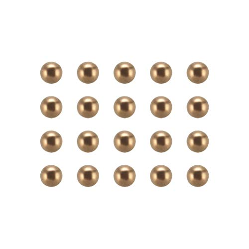 uxcell 3mm Precision Solid Brass Bearing Balls 50pcs