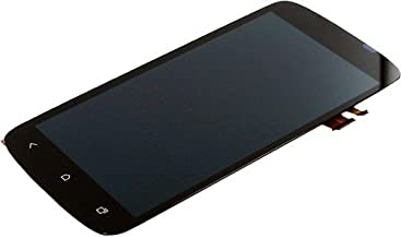 Front LCD Touch Panel Digitizer Lens Screen Assembly for HTC One S - Black