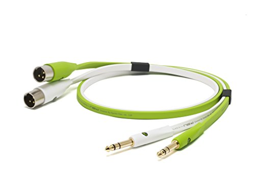 """Oyaide: NEO Class B 1/4"""" TRS to XLR Male TXM Cable 2.0m - Green"""
