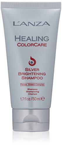 L'ANZA Healing Colorcare Silver Brightening Shampoo, 1.7 Fl Oz