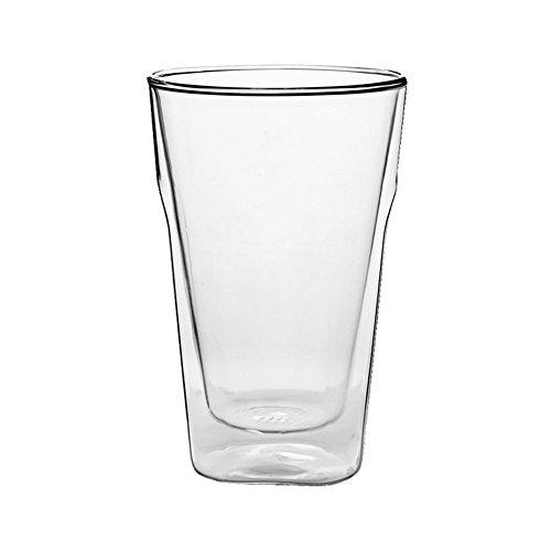 FZG Taza Bebida Jugo Vino Cerveza Leche Café Personalidad Copa de Vino Bar Cafe Taza de Agua Doble Capa de Gran Capacidad
