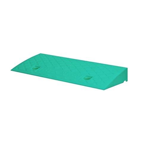 C-J-Xin 7/9 cm serviceoprijplaat, step pad Easy Green Plastic Curb Ramps straatrand multifunctionele rolstoeloprijplaatjes om te dragen slijtvast