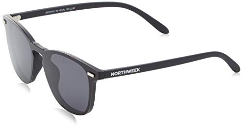 NORTHWEEK Wall Phantom All Black Gafas de sol, Negro, 136 Unisex