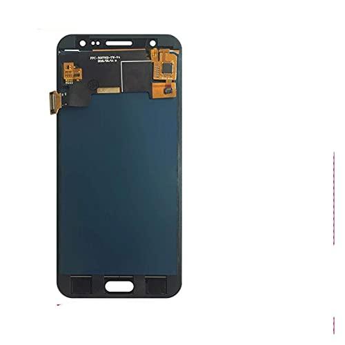 Kit de accesorios 10 unids/lote 100% probado para Samsung Galaxy J5 2015 J500 J500F J500FN J500H J500M Pantalla LCD táctil digitalizador Asamblea pantalla LCD táctil (color: oro) reemplazo
