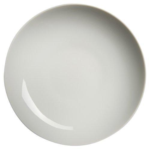 Guy Degrenne Modulo - Set da 6 Piatti Fondi in Porcellana, 20 cm, Colore: Bianco