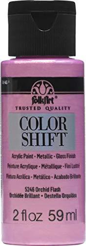 FolkArt Color Shift Paint, 2 Ounce, Orchid Flash 2 Fl Oz