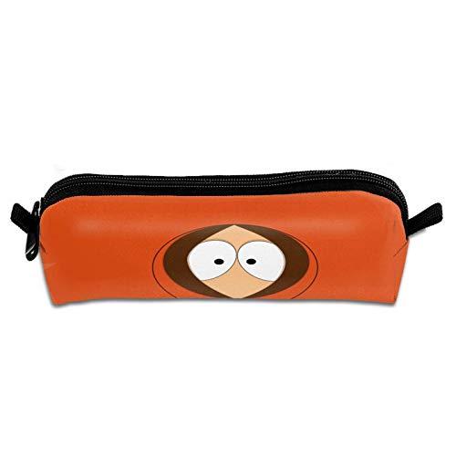 Multifunción South Park Lona simple Bolsa de papelería de gran capacidad Caja de soporte con cremallera portátil para adolescentes Niños Niñas Estudiantes de la escuela A4