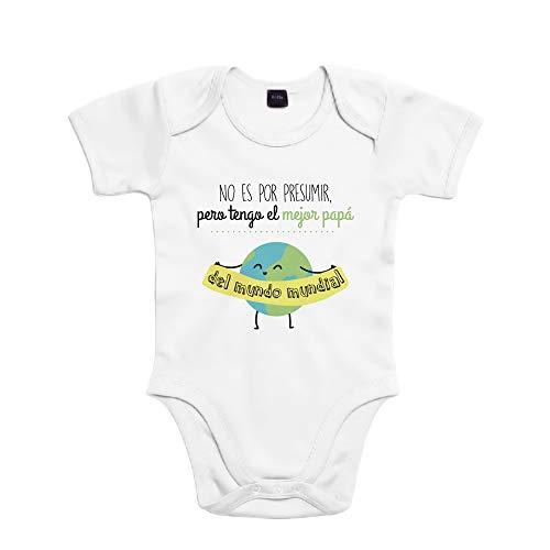SUPERMOLON 6909 Body, Blanco, 6 Meses Unisex bebé