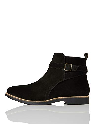 find. Ethan Jodhpur Chelsea Boots, Schwarz (Black/Black), 41 EU