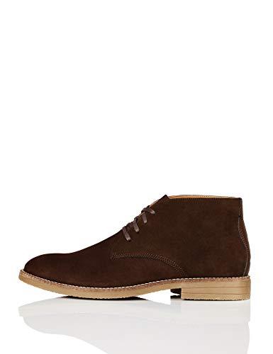 find. Albie Heavy Rand Desert Boots, Braun (Chocolate), 43 EU