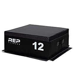 Rep Fitness Foam Soft Plyo Box for Plyometric Exercises and Conditioning - 24/20/12/6/4 Sizes