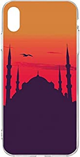 Switch iPhone Xs Max Clear Case Mosque 001