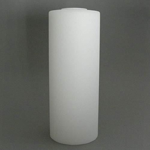 Glaszylinder Gregory opal weiß matt Durchmesser 10 cm; Für E27 Fassung (Höhe 12 cm)