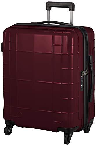 [プロテカ] スーツケース ストッパー付き 静音キャスター 53L 3.3kg 約3~5泊向け 日本製 スタリアCX 02152 保証付 56 cm ワイン