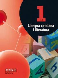 Llengua catalana i literatura 1 ESO Atòmium - 9788441223899