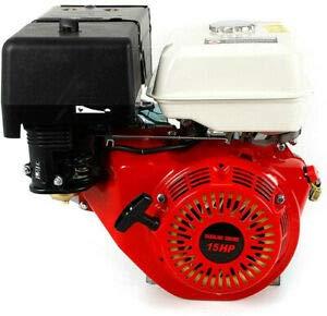 Motor de gasolina de 4 tiempos, 15 CV, arranque de tracción, motor de kart, motor de gas OHV, seguro de falta de aceite, refrigerado por aire, monocilíndrico