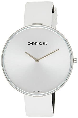 Calvin Klein Reloj Analógico para Mujer de Cuarzo con Correa en Cuero K8Y231L6