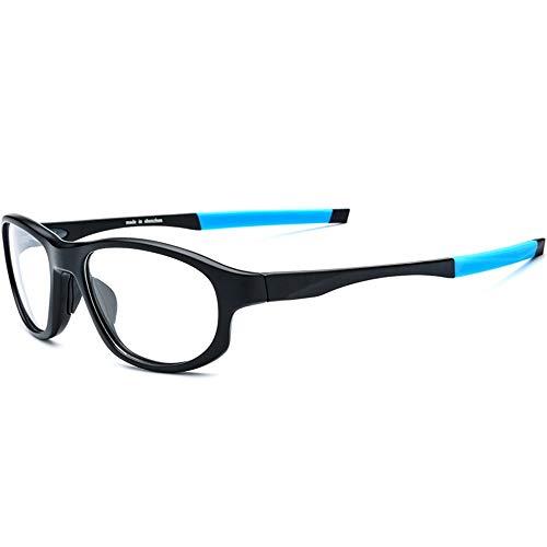 Sunglass Fashion Gafas Antideslizantes Antideslizantes para Deportes al Aire Libre y protección contra la radiación electromagnética para computadora/TV Gafas Resistentes a los arañazos contra