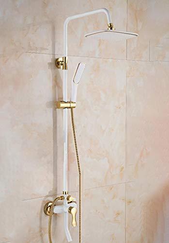 Columna de ducha con grifo para bañera, juego de...