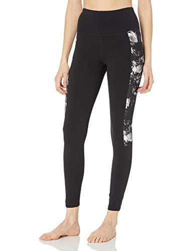 Skechers Women's Go Walk GoFlex High Waisted 2-Pocket Yoga Legging, Noir Edin Print, S