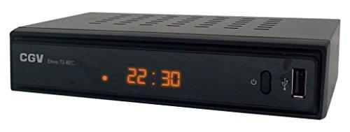 CGV Etimo T2-REC Récepteur/Enregistreur TNT HD pour les chaines gratuites françaises et allemandes