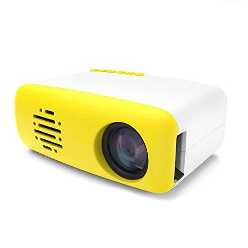 G-wukeer Mini Proyector Portátil, Proyector De Video Full HD, Proyector Portátil con Bolsa De Transporte, Compatible con HDMI, VGA, Películas, Videojuegos, Fiestas Y Más