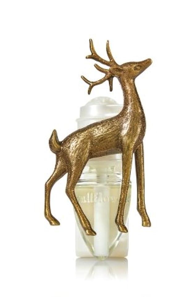 牧草地ストリップ男【Bath&Body Works/バス&ボディワークス】 ルームフレグランス プラグインスターター (本体のみ) ウッドランドディアー Wallflowers Fragrance Plug Woodland Deer [並行輸入品]