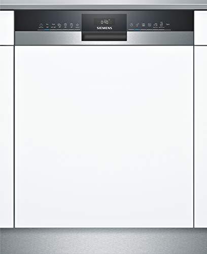 Siemens SN53HS60AE iQ300 Teilintegrierter Geschirrspüler/A++ / 262 kWh/Jahr / 2660 L/Jahr/WLAN-Fähig über Home Connect/varioSpeed Plus/varioFlex Körbe, Edelstahl